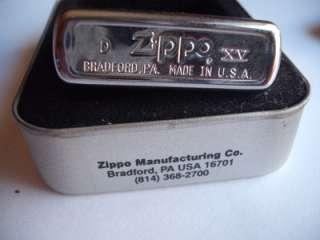 MERCEDES BENZ C CLASS ZIPPO LIGHTER VINTAGE 1999 HIGH POLISH CHROME