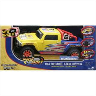Control Vehicle Full Function Pro Dirt Hummer H3T Yellow 1690