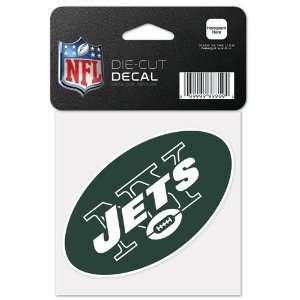New York Jets 4x4 Die Cut Decal