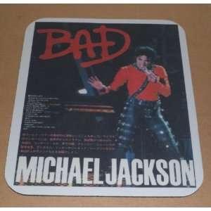 MICHAEL JACKSON Bad COMPUTER MOUSEPAD