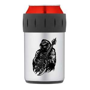 Can Cooler Koozie Grim Reaper Heavy Metal Rock Player