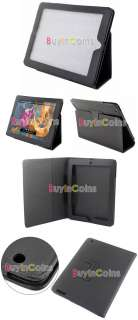 PU Leather Flip Case Cover Stand for iPad 2 Gen 2nd #0