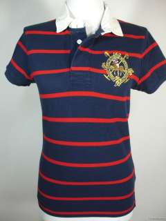 NWT Ralph Lauren RUGBY POLO SHIRT Big Pony Mallet Crest