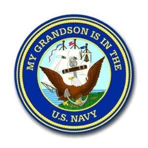 US Navy Pride Grandson Decal Sticker 5.5