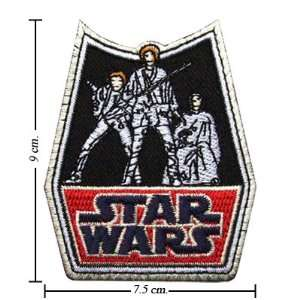 Star Wars Retro Logo Iron On Patches