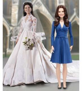 Kate Middleton Royal Vinyl Portrait Doll Set Of 2 |