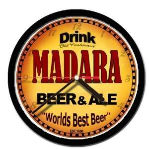 MADARA beer and ale cerveza wall clock: Everything Else