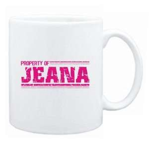 New  Property Of Jeana Retro  Mug Name: Home & Kitchen