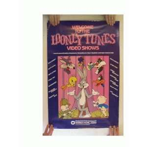 Looney Tunes Poster Bugs Bunny Daffy Duck Porky Pig