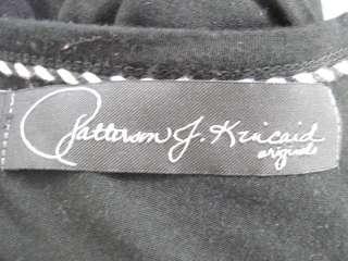 PATTERSON J KINCAID Black Long Sleeve Shirt Top Sz L