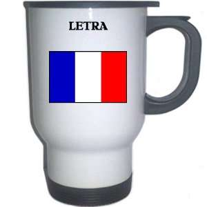 France   LETRA White Stainless Steel Mug Everything