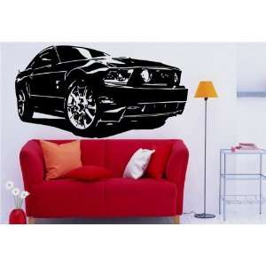 Wall Mural Vinyl Sticker Car Ford Mustang S. 1212