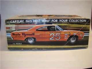 BOX ONLY VTG ORIG 1/25 JO HAN 1968 PLYMOUTH ROAD RUNNER MOPAR CUSTOM