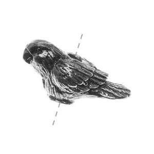 Studios Pewter Kiwi Love Bird Bead 22mm (1) Arts, Crafts & Sewing