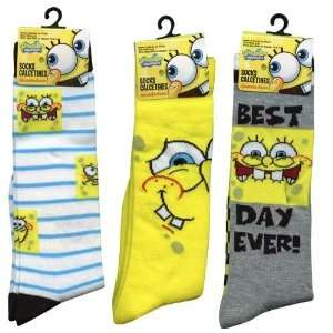 Squarepants Girls Knee High Socks Size 6 8