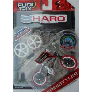 Flick Trix HARO Freestyler  Black   20025582: Toys & Games