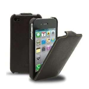 Melkco   Apple iPhone 4 Ultra Slim Leather Case Flip Type