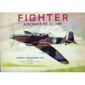Fighter Aircraft War Aeroplane Royal Air Force