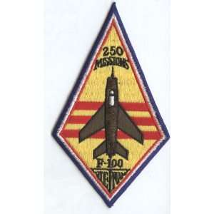 188th TFS 250 MISSIONS VIETNAM F 100 6 Patch Office Products