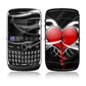 BlackBerry Curve 3G Decal Skin Sticker   Devil Heart