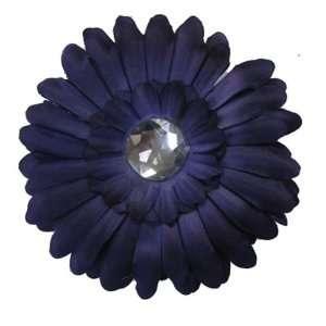 Purple Daisy Flower Hair Clip