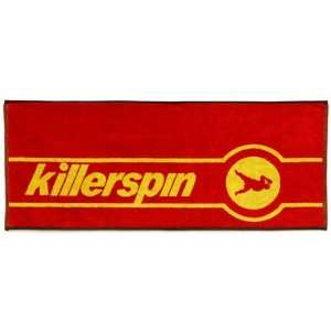 Killerspin Table Tennis Tournament Towel RED/YELLOW 38 X