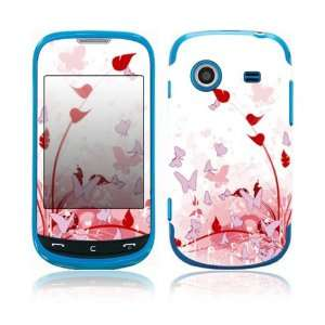 Pink Butterfly Fantasy Decorative Skin Cover Decal Sticker for Samsung