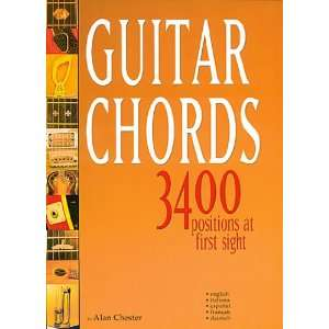 guitar chords ; 3400 positions at first sight