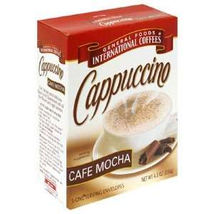 Foods International, 100 Calorie Packs CAPPUCCINO Mix Cafe Mocha 5