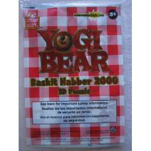 Yogi Bear Baskit Nabber 2000 3D Puzzle Kids Meal Toy