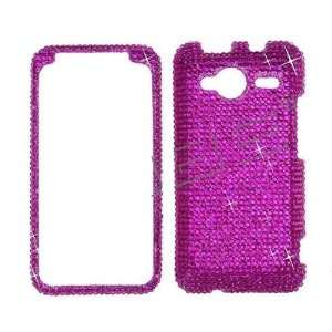 Hot Pink BLING COVER CASE SKIN 4 HTC EVO Shift 4G Cell