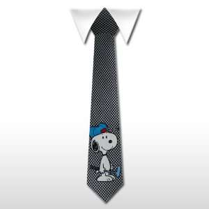 FUNNY TIE # 232  SNOOPY BLACK AND WHITE GOLF CLUB Toys & Games