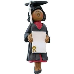2318 Graduate Female Ethnic African American Personalized