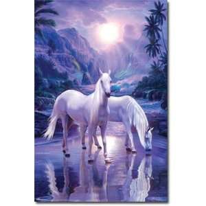 Christian Riese Lassen   Horse   Peaceful Moment POSTER