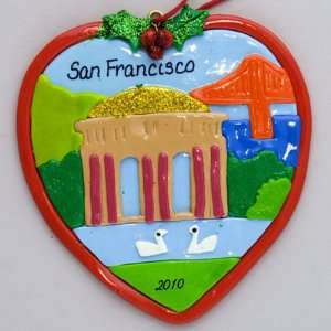 Personalized San Francisco Palace of Fine Arts ornament