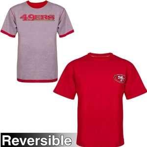 NFL San Francisco 49ers Big & Tall Reversible Short Sleeve
