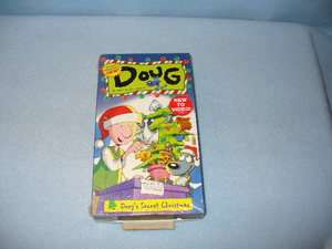 Brand Spanking New Doug: Dougs Secret Christmas (VHS, 1997