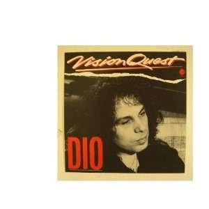 Ronnie James Dio Poster Vision Quest Black Sabbath