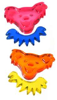 24 Grateful Dead Bear Gel Gem Window Clings WHOLESALE