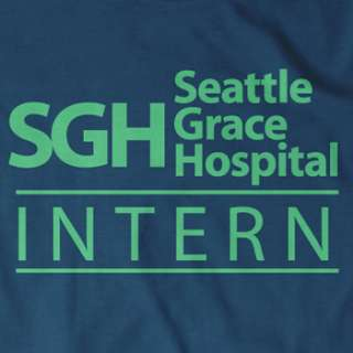 SEATTLE GRACE HOSPITAL T Shirt greys greys anatomy
