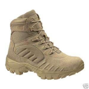 New Bates 2455 M 6 Desert Tan CTS Assault Boots Sz 7 W
