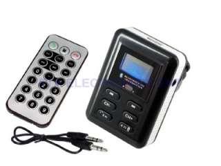 Hands Free Mobile Phone Bluetooth Car Kit  USB MMC AUX Player FM