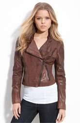 Andrew Marc Audrey Leather Jacket Was $595.00 Now $296.90