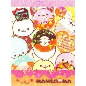 Mamegoma baby seals mini Memo Pad with donuts Toys & Games