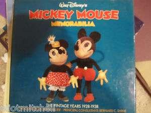 walt Disneys mickey mouse memorabilia Book 1928 1938