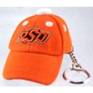 Oklahoma State Cowboys Orange Baseball Cap Key Chain