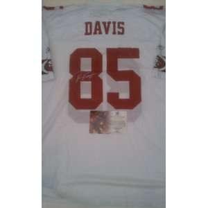 Vernon Davis Signed San Francisco 49ers Jersey