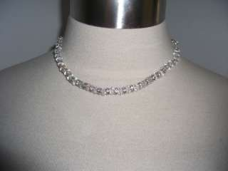 EUC Swarovski Crystal Wedding Bridal Necklace Ret $85
