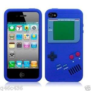IPHONE4S 4G Nintendo Game Boy silicone case cover iPhone4 4S BLUE U.S