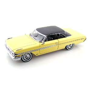 1964 Ford Galaxy 500 XL Hardtop 1/18 Black & Sunlight